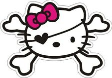 "Hello Kitty Pirate Sticker 3.5"" x 5"""