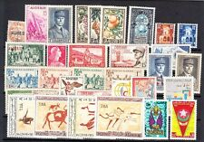Algeria - Mint NH, nice lot of all complete sets (Catalog Value $76.75)