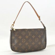 Authentic  Louis Vuitton Monogram Pochette Accessoires Pouch M51980 #S4721 E