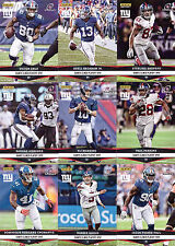 2016 Panini Instant Playoffs New York Giants 25-Card Team Set - Only 63 made!