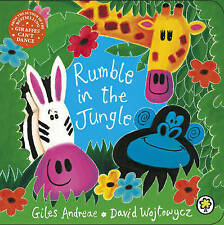 Rumble in the Jungle: Board Book by Giles Andreae & David Wojtowycz BRAND NEW