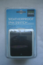 Weatherproof IP44 Switch - Double Pole - 10 AMP - Polycarbonate - By Greenbrook