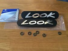 PEUGEOT 205 206 309 LOOK mudflap badge kit emblem VAC 858 NEW