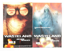 Wasteland Vol. 1 Cities in Dust Vol. 2 Shades of God Graphic Novel Comic Book