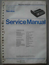 PHILIPS ek3218 service manual