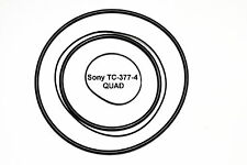 COURROIES SET SONY TC-377-4 QUAD MAGNETOPHONE A BANDE EXTRA FORT NEUF TC377-4