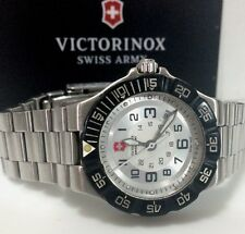 Victorinox Swiss Army Summit XLT Silver Dial Stainless Steel Women's Date Watch