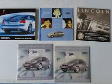 LOT of 5 Auto Owners Manual Supplements CD Ford Lincoln Pontiac 2003 2004