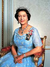 """Queen Elizabeth II Portrait 8 x 10"""" Photo Print"""