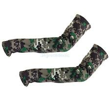 Camouflage Bike Golf Basketball Drving Sun UV Protection Arm Cooler Sleeve