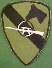 First Cavalry Division Sniper Vietnam Patch
