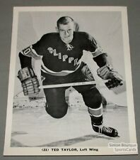 AHL 1964-65 Baltimore Clippers Ted Taylor Hockey Photo