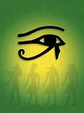 PAINTING DRAWING ANCIENT EGYPTIAN GODS EYE HORUS RA ART PRINT POSTER MP3693A