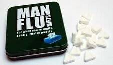 """Man Flu Mints"" Funny Adult Jokes Novelty Gift ideas for Him"