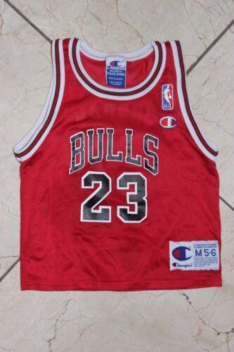80%OFF Vintage Chicago Bulls Champion Kids Baby Jersey 23 Red Black White NBA  sz 25c03924e