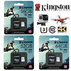 SD Card Extreme Pro 32GB 64GB 16GB Kingston Micro SD GoPro Action Dash Camera 4K