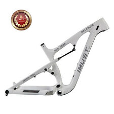 IMUST Carbon Full Suspension Fat Tire Bike Frame Malamute 16 inch Snow Bicycle