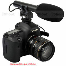 Camera MIC Stereo Microphone for Nikon D7100/D7000/D5100/D5300/D3300/D800/D750