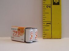 MINIATURE RETIRED RE-MENT 6 PACK ORANGE JUICE FOOD FOR DOLLS 1/6 SCALE LITTLES