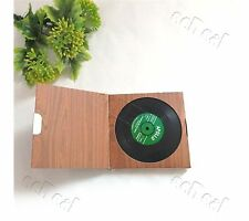 1 set 6 pc Vinyl Coaster Groovy Record Cup Drinks Holder Mat Tableware Placemat