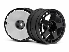 "HPI Racing 114367 fifteen52 Turbomac Wheel Black (2.2""/57X35MM/2PCS) WR8"