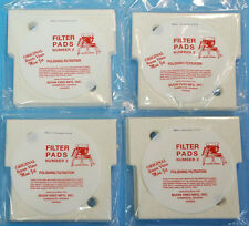4 Buon Vino Mini Jet Wine Filter Pads #2