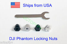 Set of 4 DJI Phantom Screw Nuts CW CCW for Carbon Fiber Props Upgrade USA Seller