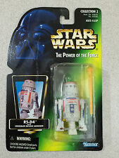 STAR WARS POWER OF THE FORCE R5-D4 R5D4 GREEN CARD