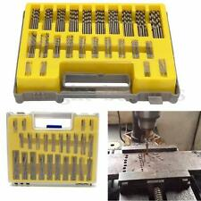 150x HSS Foret 0.4-3.2mm Fraise Percage Perceuse Acier Puissance Drill Bit Outil