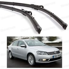 "24"" 19"" Car Windscreen Wiper Blade Bracketless for VW Passat Sedan 2006-2014"