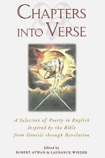 Chapters into Verse: A Selection of Poetry in English Inspired by the Bible from