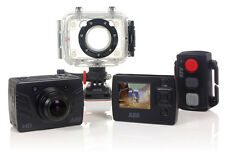 HD Sports Action Camera - IP68 Waterproof 1080p DVR 175° Wide Lens with 3 Mounts