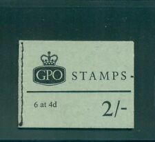 Great Britain 2s Queen Elizabeth II  November 1968  Booklet NP32