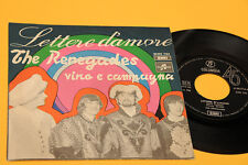 """RENEGADES 7"""" LETTERE D'AMORE 1°ST ORIG ITALY BEAT 1968 NM !!!!!!!!"""