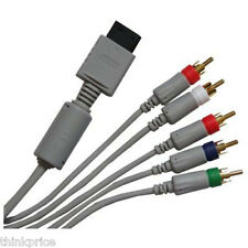 NINTENDO Wii GOLD PLATED HDTV COMPONENT CABLE  AV LEAD
