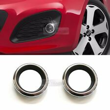 OEM Fog lamp Cover Stock Chrome Ring for KIA 2012 - 2015 Rio 5door / Hatch Back