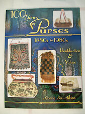 MESH BEADED PURSES & HANDBAGS 100 YEARS Price Guide BOOK Chatelaines 1880 -1980