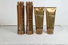 Brazilian Blowout 4 Pack Volume Shampoo, Conditioner, Masque & Balm