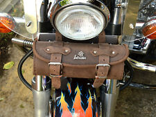Si) Brown Leather Tool Roll Bag Suzuki  Intruder vl c m 600 800 vs 1400 1500