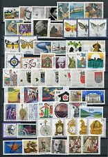GERMANY 1992 MNH COMMEMORATIVES COMPLETE YEAR 60 Stamps