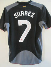 Liverpool 2012-2013 Away Suarez 7 Europa League Football Shirt Small /35609