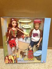 Barbie My Scene Out & About Chelsea And Hudson Doll Playset New Rare