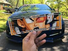 Dragon Ball Z Slap Sticker JDM CAR DECAL VINYL CAMBER STANCE WINDOW HONDA JAPAN