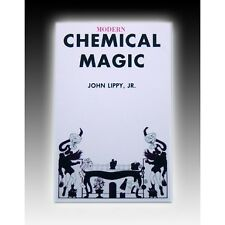 Modern Chemical Magic Book by John D. Lippy Trick Fire chemistry how flash paper