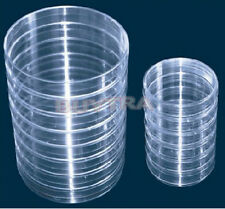 10X Sterile Plastic Petri Dishes For LB Plate Bacteria 55x15mm HIAU