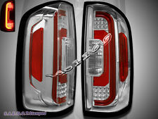 NEW 2015-2016 Chevrolet Colorado / GMC Canyon Light Clear Lens LED Tail Lights