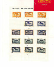 SS2820 FRENCH COLONIES MOROCCO Airmail 1922-27 Original album page