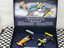 SCALEXTRIC LEGENDS MCLAREN M7C/BRABHAM BT26A  C3589A BOX SET LE 1.32 BNIB