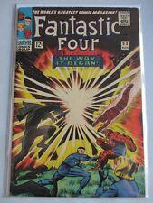 Fantastic Four Vol. 1 (1961-2012) #53 FN/VF Origin of Black Panther