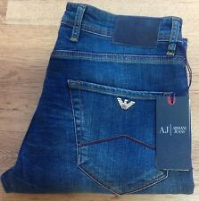 Men's Armani Jeans ( blue) AJ20 slim fit - waist 32 Length 34